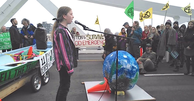 Climate Action from a Gentle Voice  image