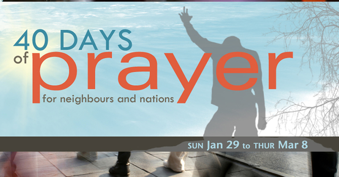 40 Days of Prayer  image