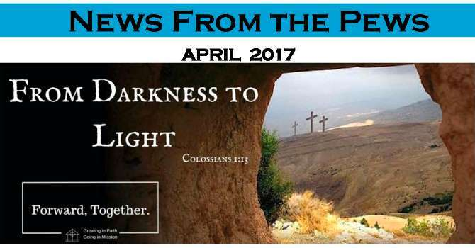 News from the Pews - April image