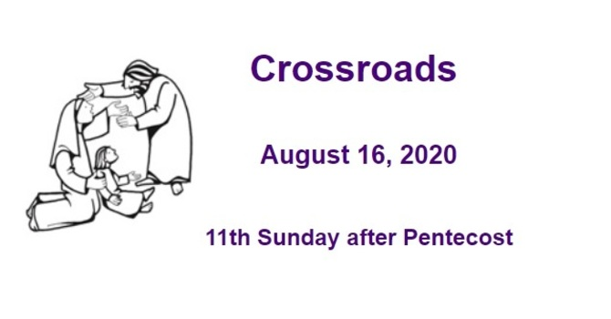 Crossroads August 16, 2020 image