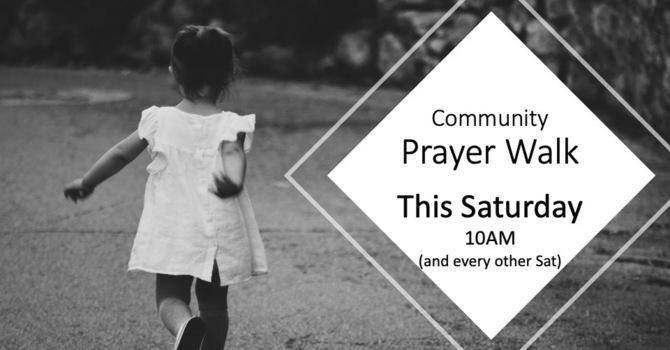 Community Prayer Walk image