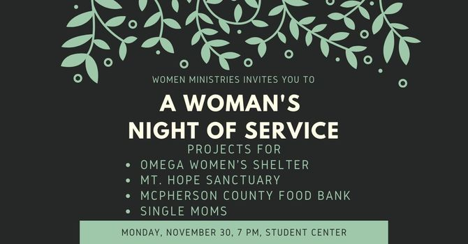 A Woman's Night of Service