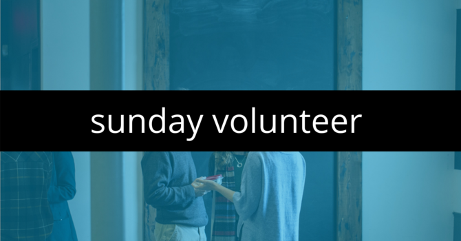 SUNDAY VOLUNTEER