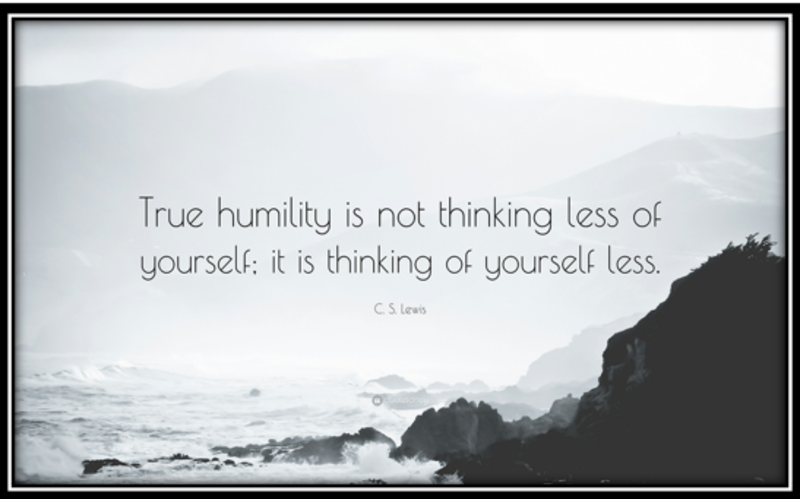 Loving as a Way of Life through Humility (S)