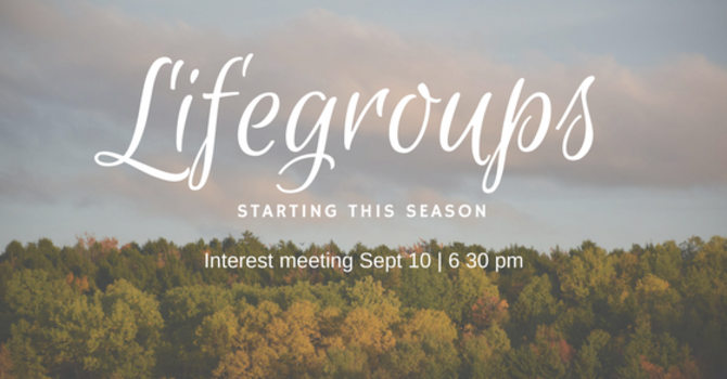 LifeGroups! image