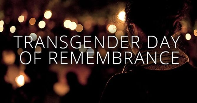 Transgender Day of Remembrance image