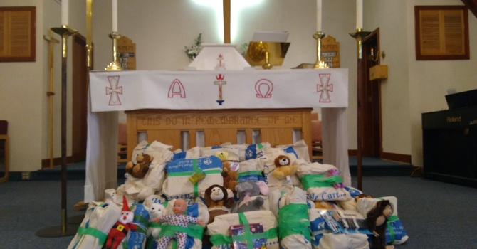 Blessing of We Care Kits image