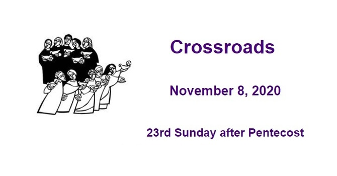 Crossroads November 8, 2020 image