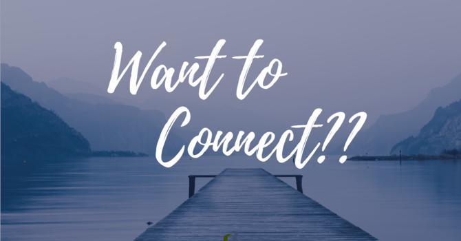 Want to Connect? image