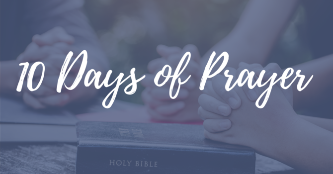 10 Days of Prayer image