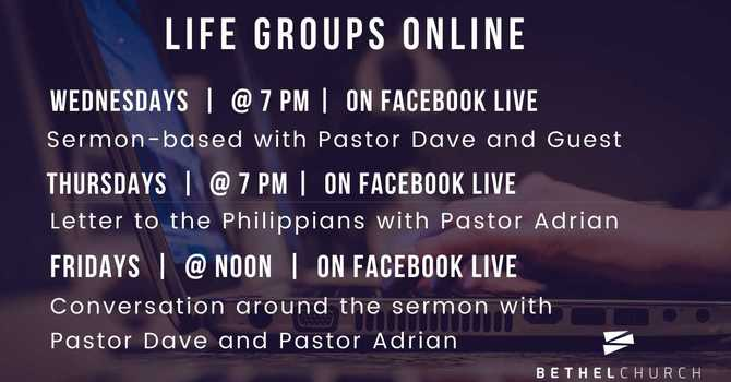 Life Groups Online image