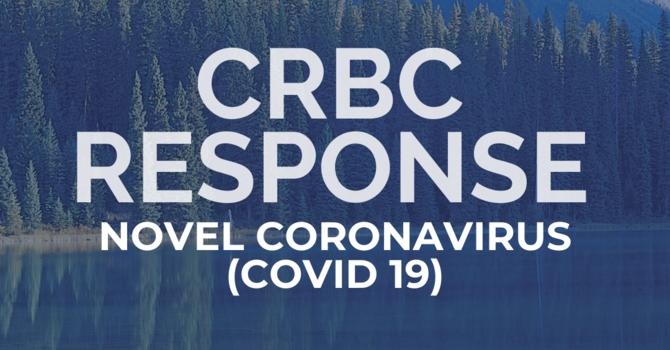 CRBC's Response to Novel Coronavirus (COVID-19) image