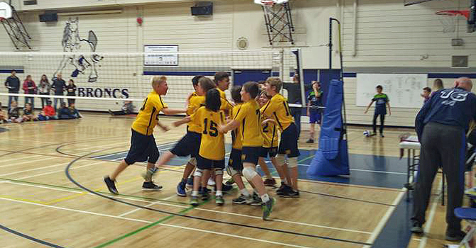 OLPH Wins Two City Championships in Elementary Volleyball! image