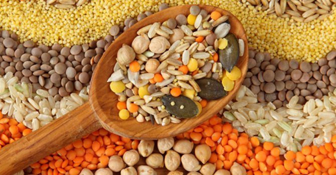 Rice, Beans and Lentils image