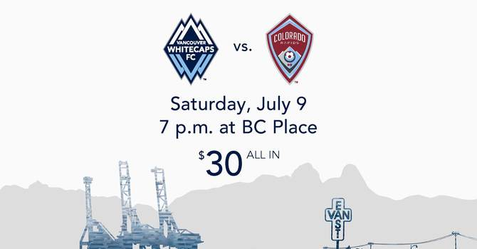 Whitecaps Faith and Family Night image
