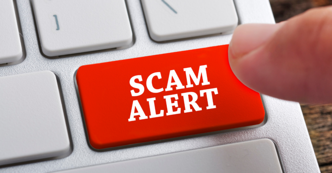 IMPORTANT - EMAIL SCAM UPDATE image