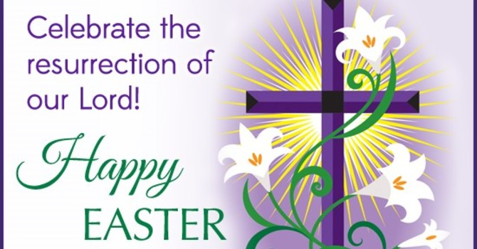 April 1, 2018 Bulletin Easter image