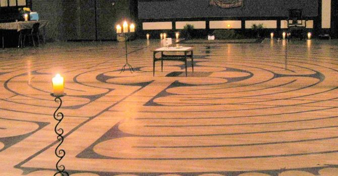 Labyrinth at St. Paul's