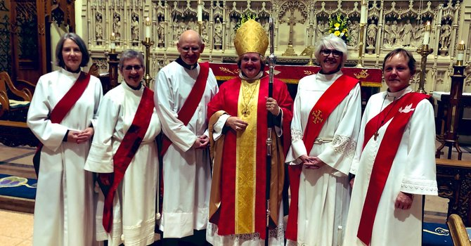 Congratulations: The Reverend Deacons Fran Wallace and Jody Balint image