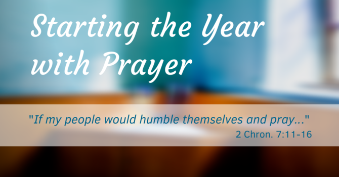 Starting the Year with Prayer