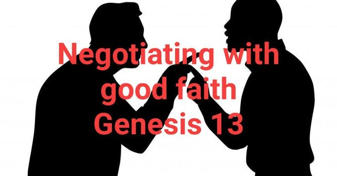 Negotiating with Good Faith