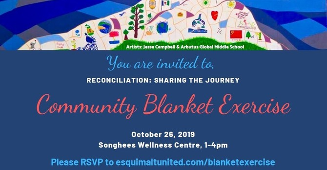 Reconciliation: Sharing the Journey - Community Blanket Exercise image