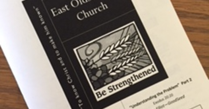 August 6, 2017 Church Bulletin image