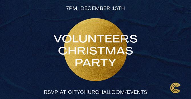 Volunteers Christmas Party