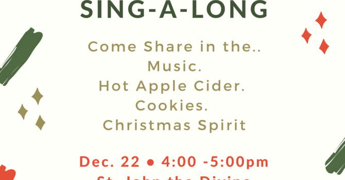 Christmas Carol Sing-a-long image
