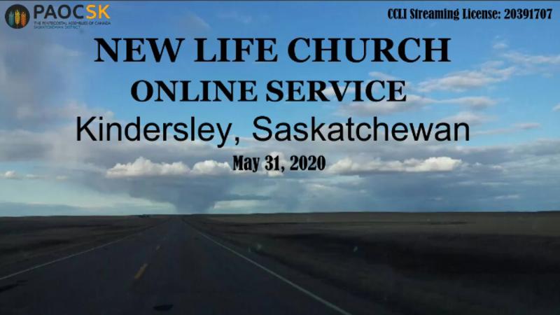 May 31 Sunday Service
