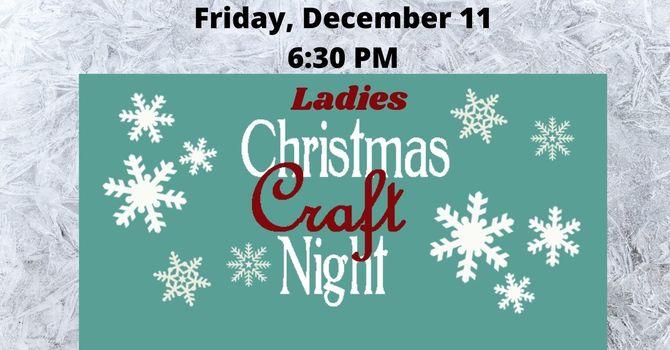 Ladies Christmas Craft Night