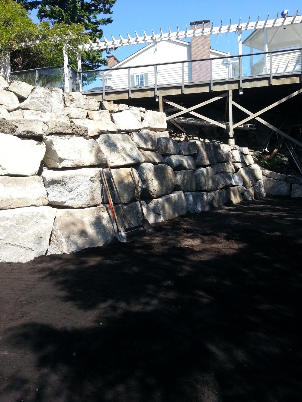 Rockridge, West Vancouver - Retaining Walls