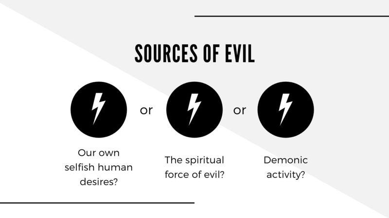 Jesus Encounters Evil