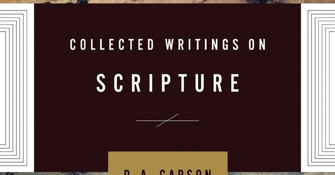 Collected Writings on Scripture image