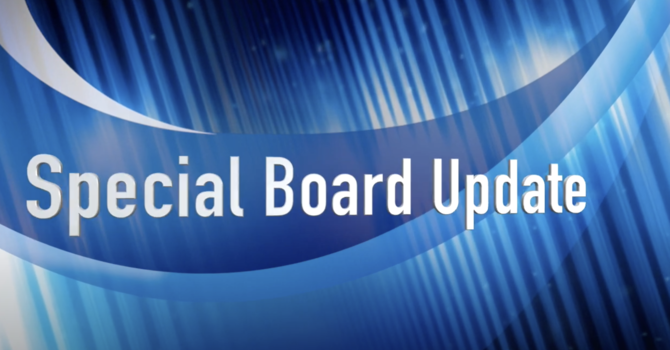 A Financial Update from the Board image