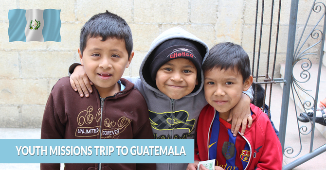 Youth Missions Trip to Guatemala image
