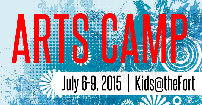 Arts Camp 2015 Registration Info image