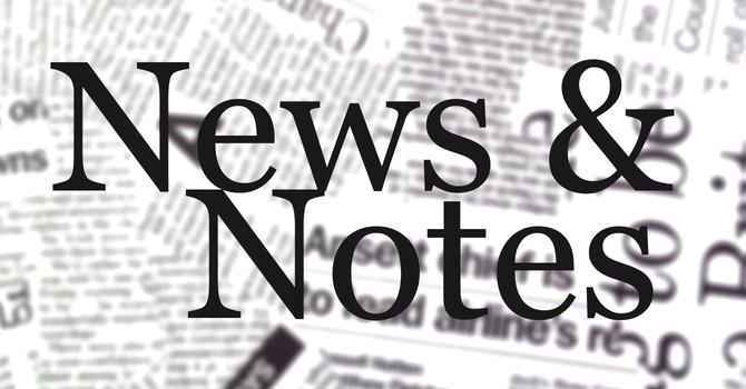 Nov. 5 News & Notes image