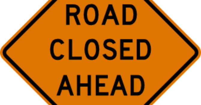 Road Closures July 26-27 image