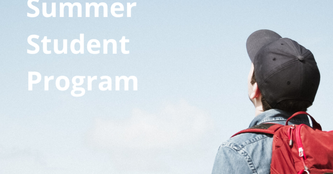 Summer Student 2020 image