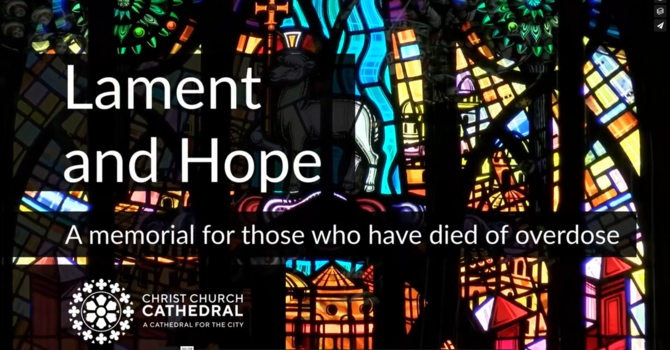 Lament and Hope: an online service image