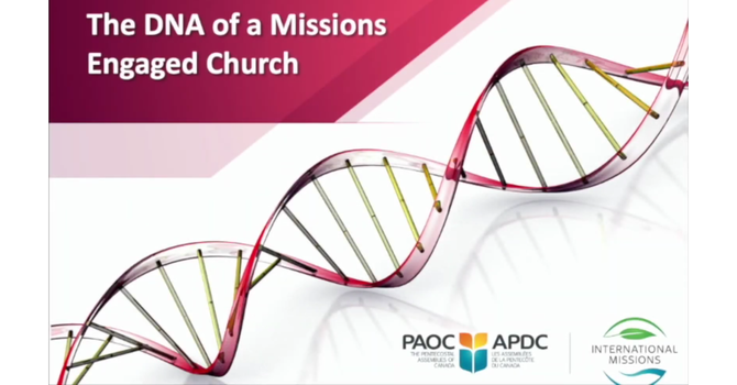 The DNA of a Missions Engaged Church