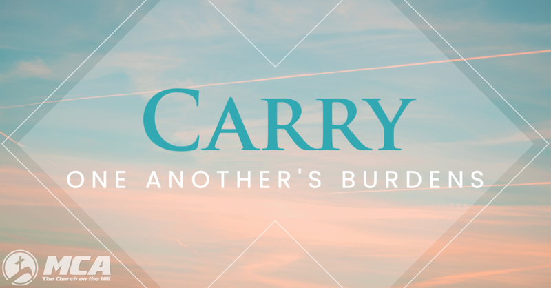 Carrying One Another's Burdens