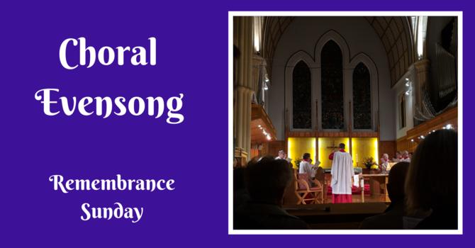Choral Evensong - November 8, 2020 image