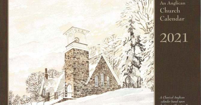 Order your 2021 Anglican Church calendar image