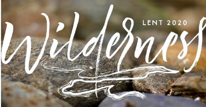 Wilderness: Lent 2020 image