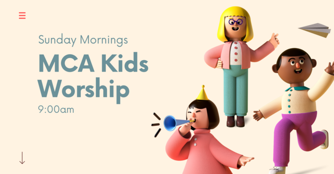 MCA Kids Worship Service