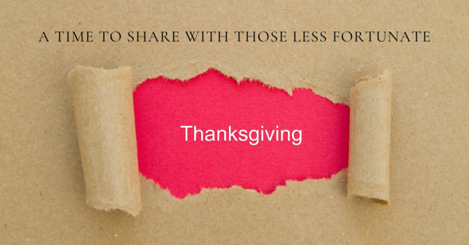 Urgent Thanksgiving Message - UCC image