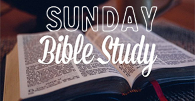 Sunday Bible Study
