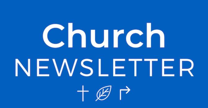 Newsletter - October 1, 2020 image